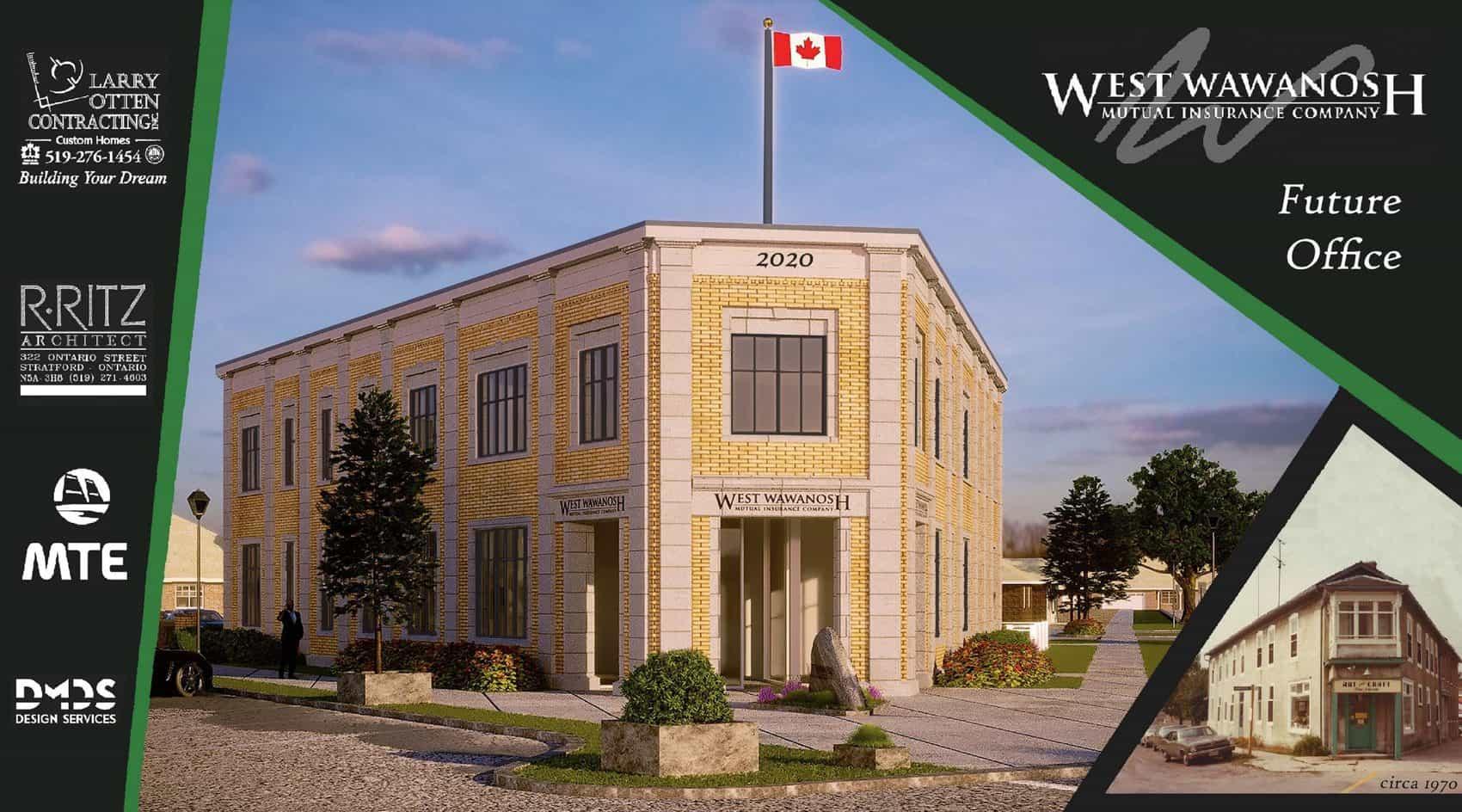 West Wawanosh Office in Goderich Ontario